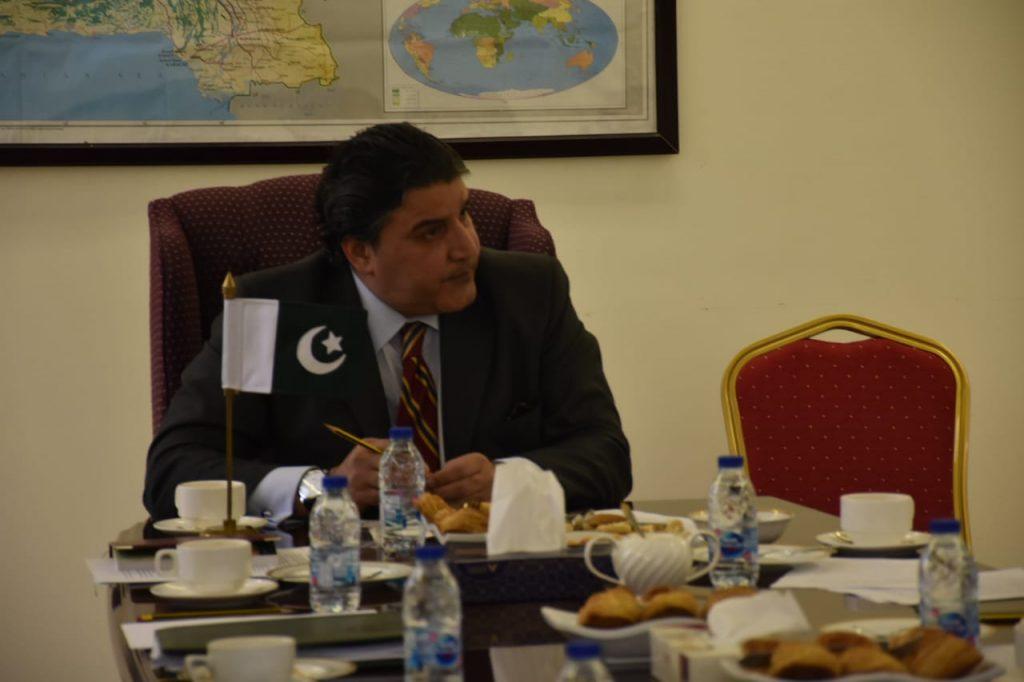 Pakistan Envoy