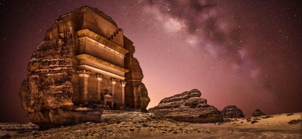 Tourists Saudi Arabia 2021