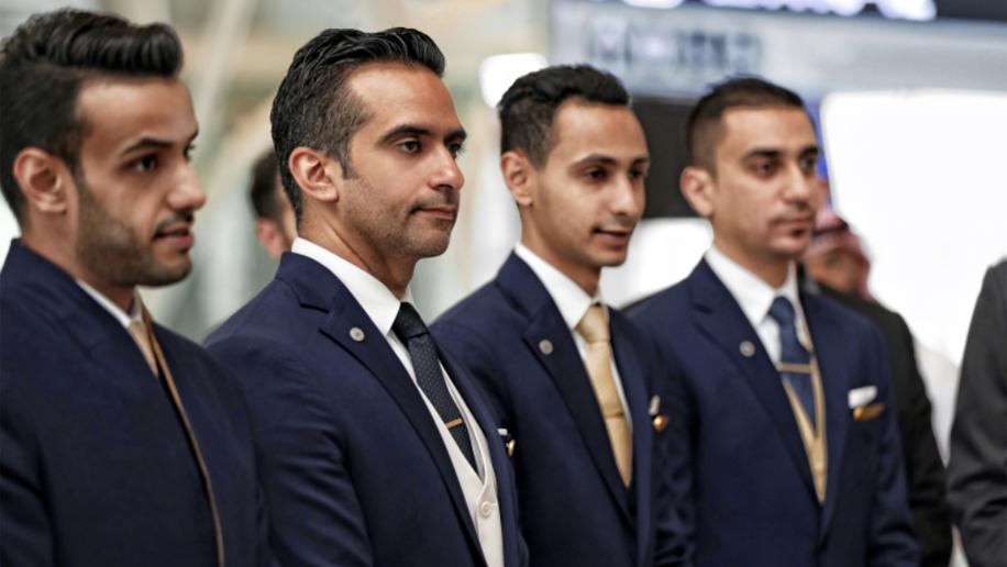 Saudi Airlines uniform