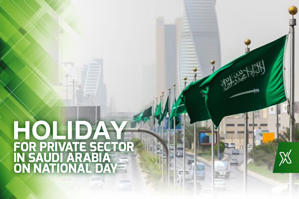 Private Sector Holiday on 89th National Day