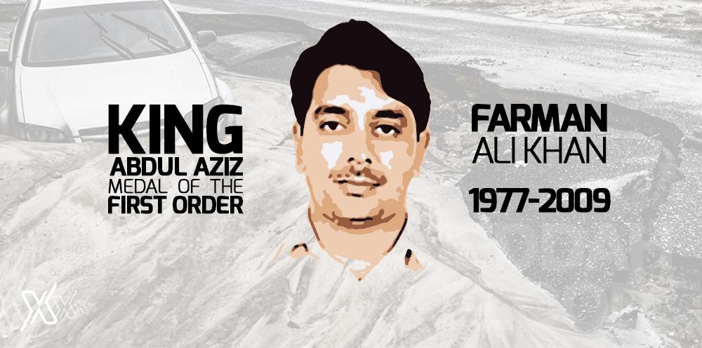 Farman Ali Khan - Saudi Arabia Hero