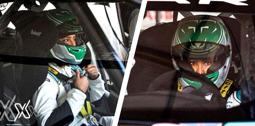 First Saudi Women Driver Riyadh Xpress