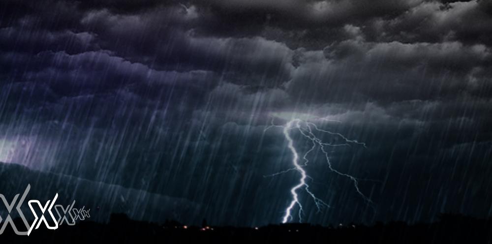 Thunderstorm & Rain in Riyadh