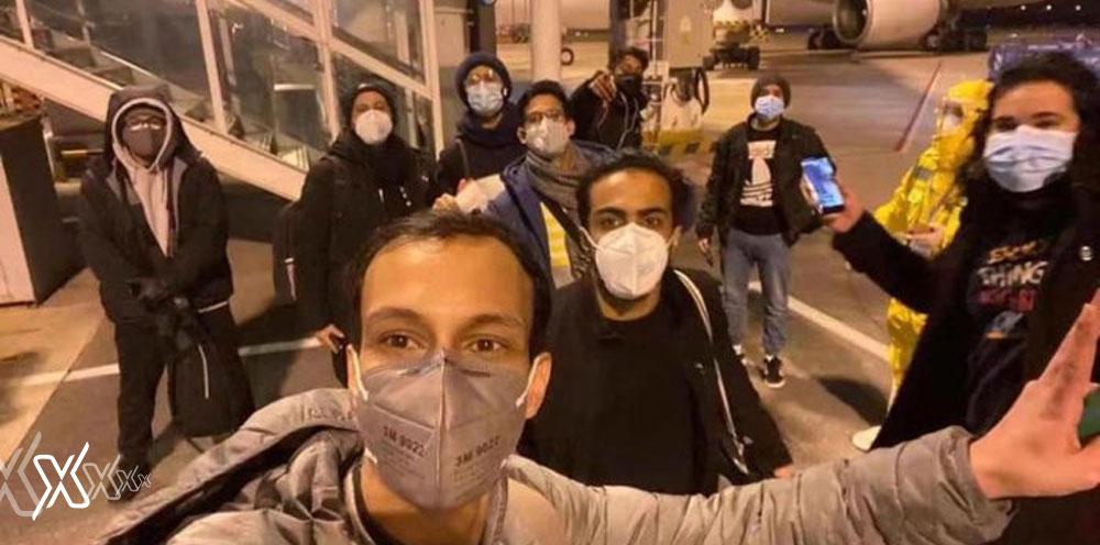 10 saudi students
