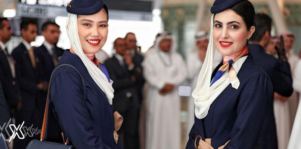 Saudi airline Uniform