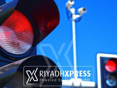 red light crossing