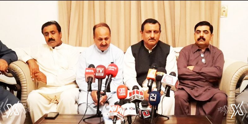 Emergency press conference of PML-N Riyadh region in view of Coronavirus