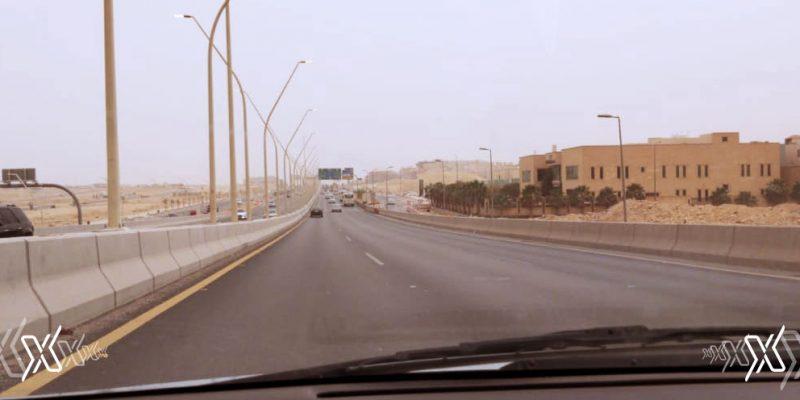 Sandstorm Hits some parts of Riyadh