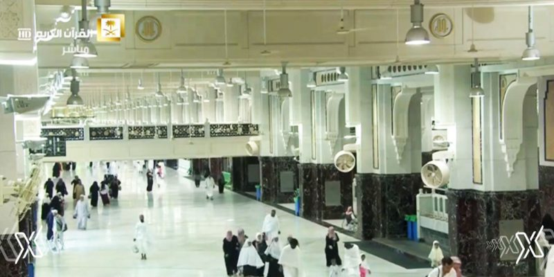 never seen Makkah this empty