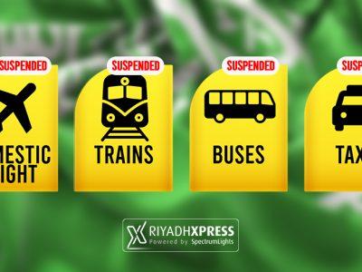 Suspending Public Transport