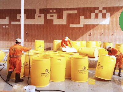 Riyadh Intensify the sanitization