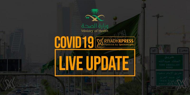 COVID19 Saudi Arabia Live