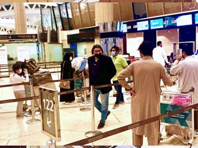 500 Stranded Pakistanis in Saudi Arabia fly to Pakistan by PIA special flights