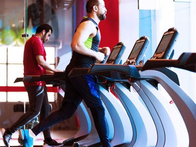gyms and sports centers