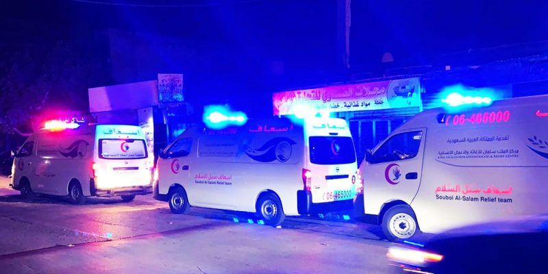 King Salman Relief helps in treating the wounded in the Beirut explosion
