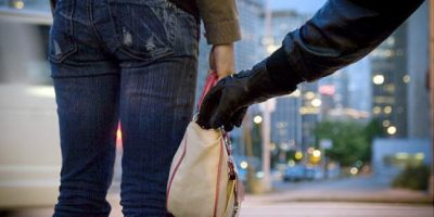 Motorbike Handbag snatching gang
