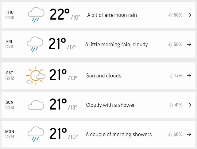 Spell of Rain in Riyadh