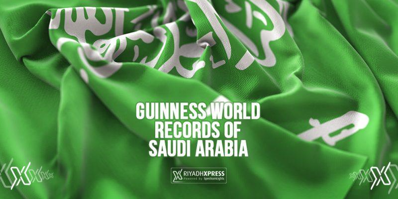 Top 5 Guinness world records of Saudi Arabia