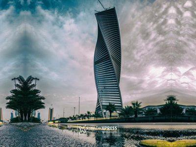Cloudy & Rainy weather in Riyadh