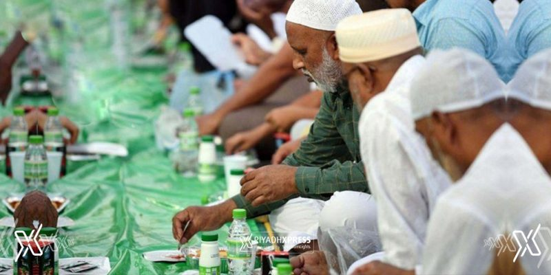 Iftar Meals at Grand Mosque