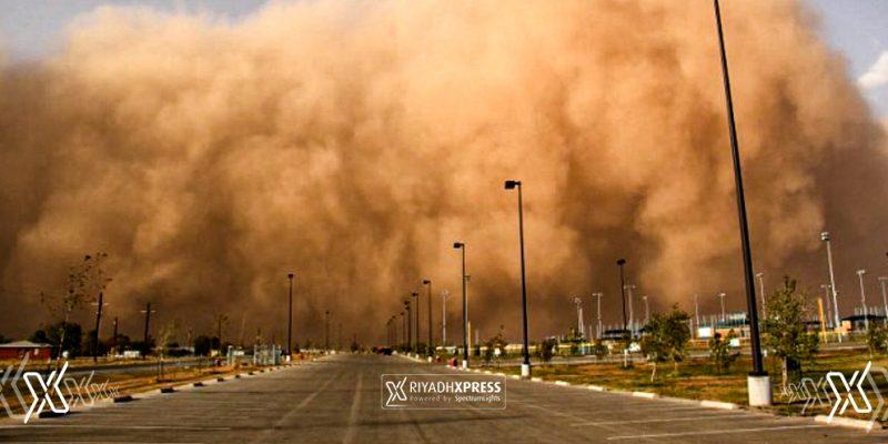 Sandstorm dusty weather
