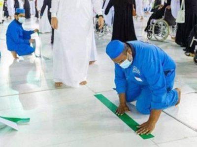 allocation of Tawaf in Makkah
