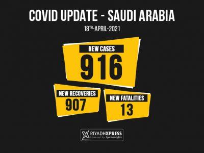916 coronavirus cases