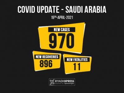 970 coronavirus cases saudi arabia