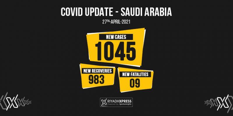 1045 coronavirus cases