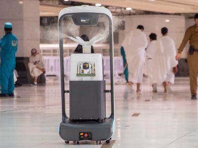 Robots to sterilize